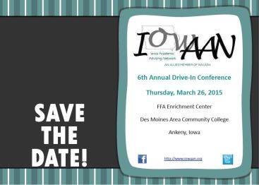 2015 IowAAN Save the Date